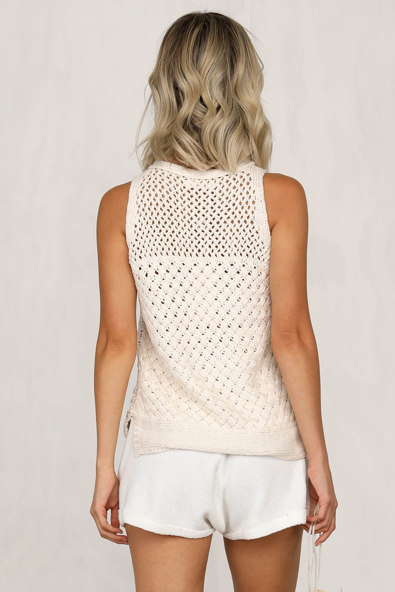 When You're Gone Knit (Cream)