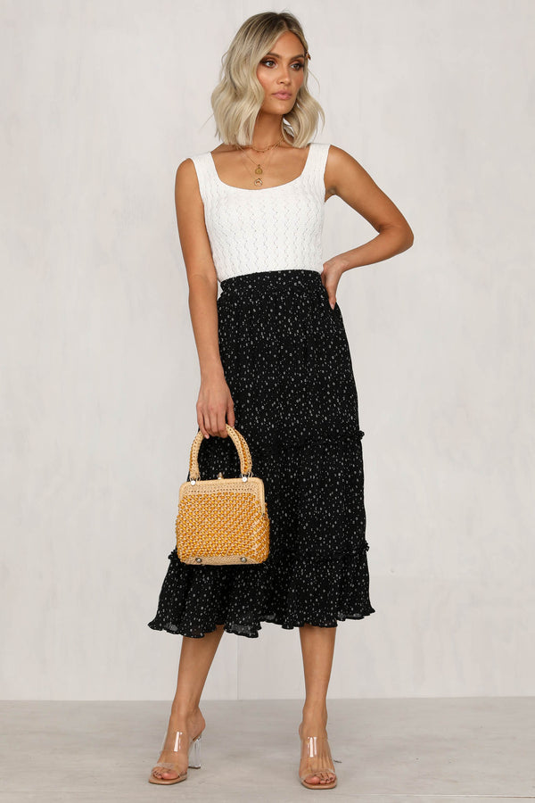 Into The Mystic Skirt (Black)