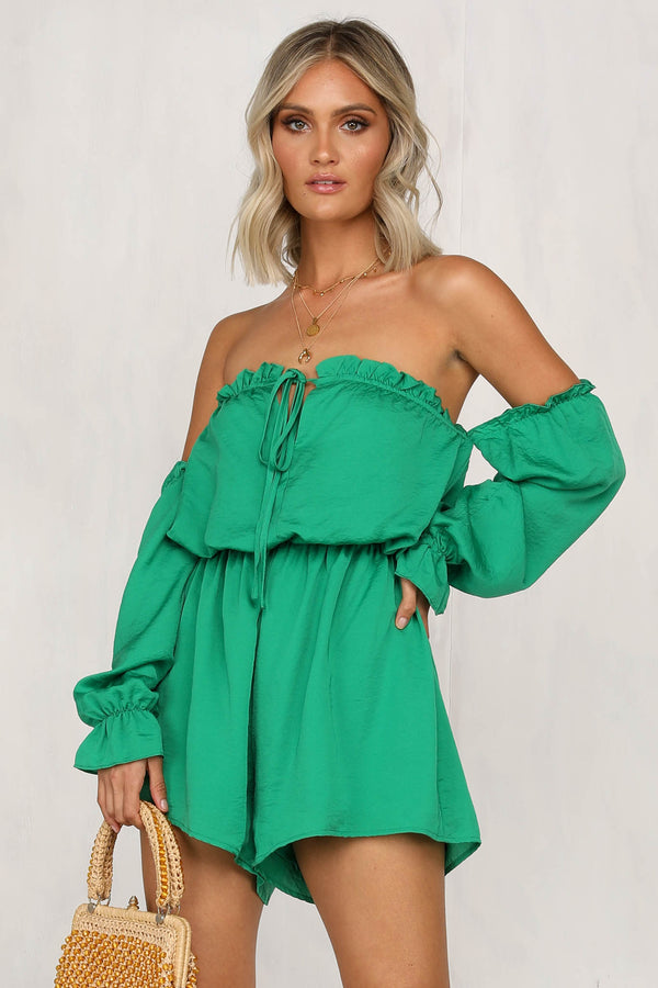 Melo Night Playsuit (Green)