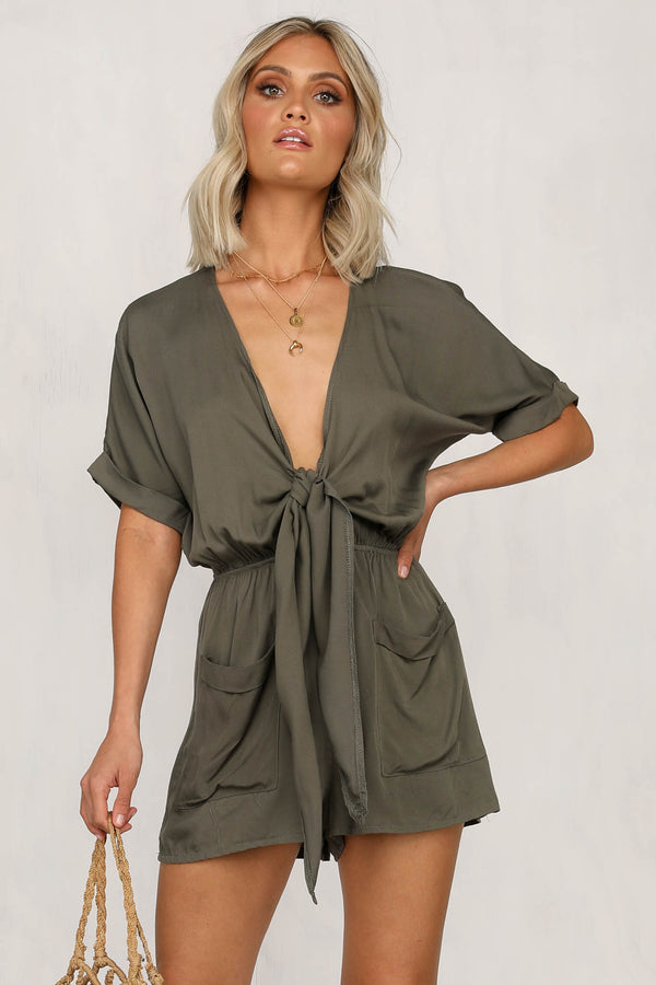 Jungle Out There Playsuit