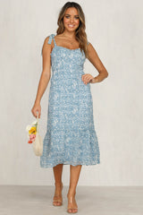 Burn Bright Dress (Blue)