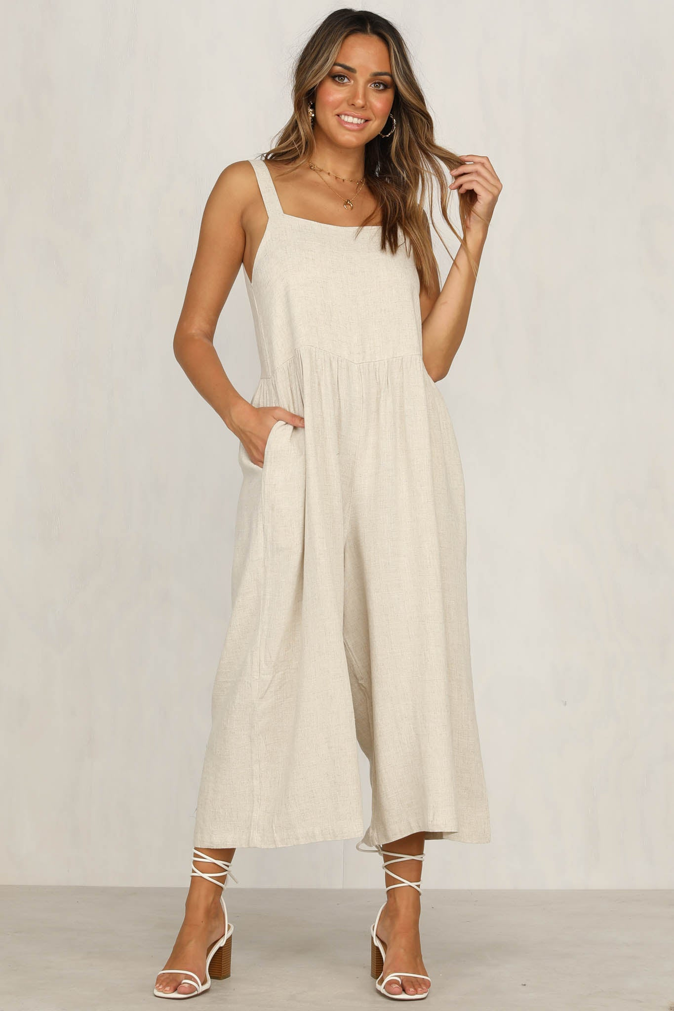 Outlaw Jumpsuit (Natural)