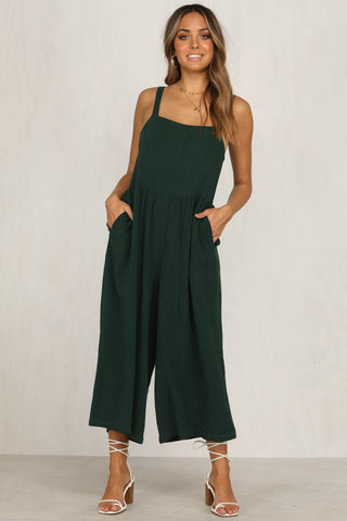Outlaw Jumpsuit (Emerald)