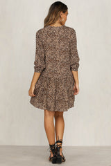 Ride Of Life Dress (Leopard)