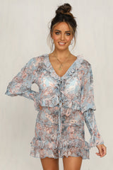 Dreamz Top (Blue Floral)