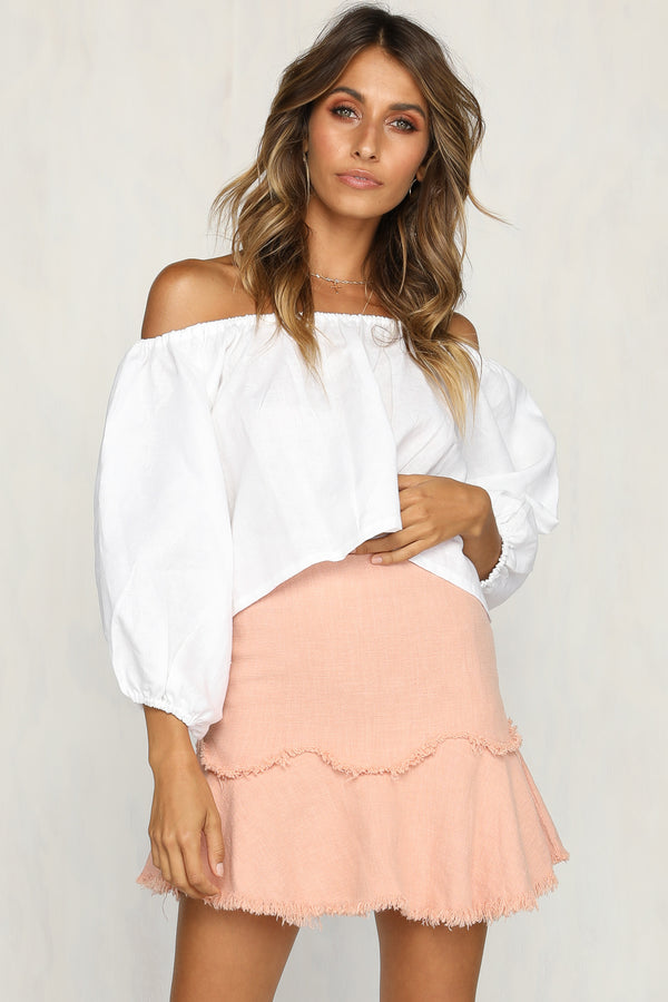 Darcie Skirt (Blush)