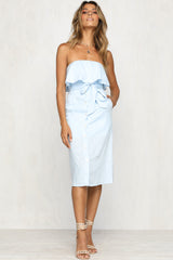 Isabella Dress (Blue)