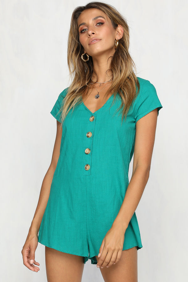 Brinkley Playsuit (Green)