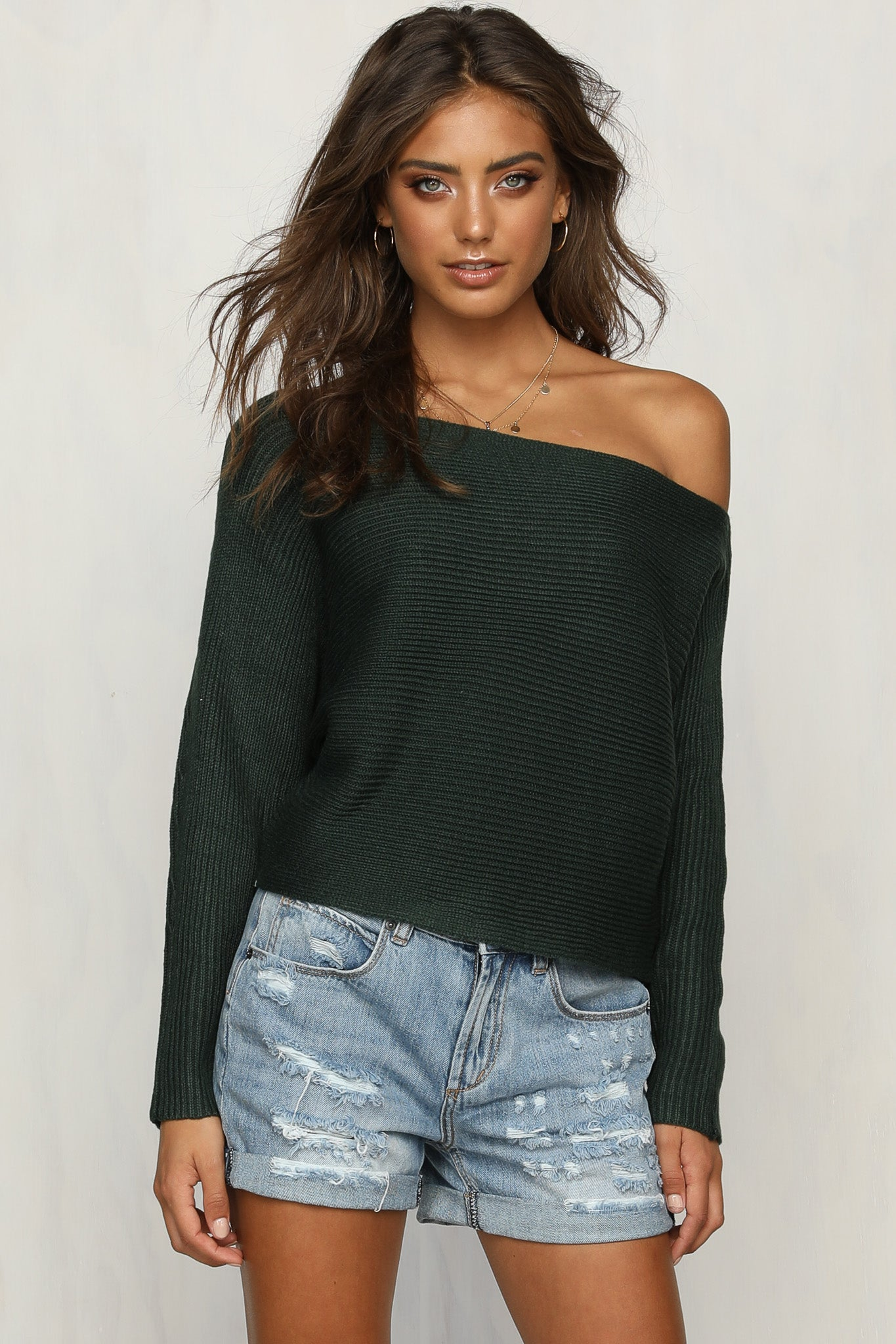 Sparrow Knit (Forest Green)