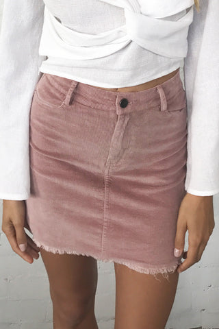 Low Lights Cord Skirt