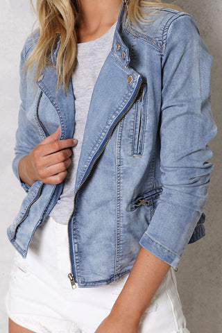 Call Me Maybe Denim Jacket