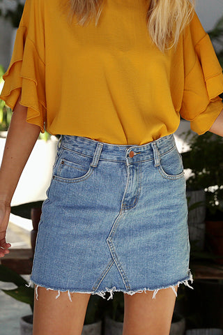 Allura Denim Skirt