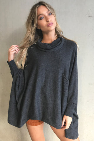 Pocket Knit (Charcoal)