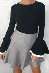 Sea Breeze Knit Skirt