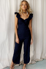 Coming Up Jumpsuit (Navy)