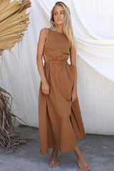 Harper Dress (Tan)