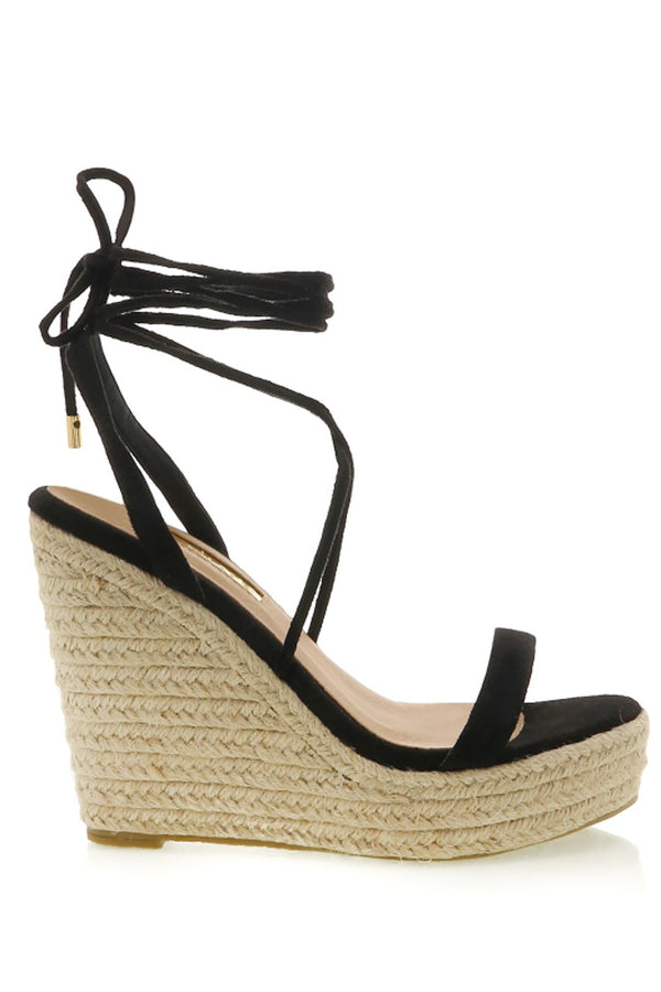 Sloane Wedge (Black)