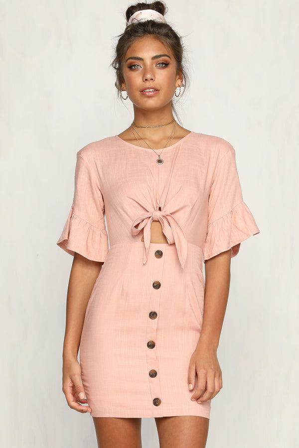 After Midnight Dress (Pink)