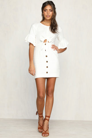 After Midnight Dress (White)
