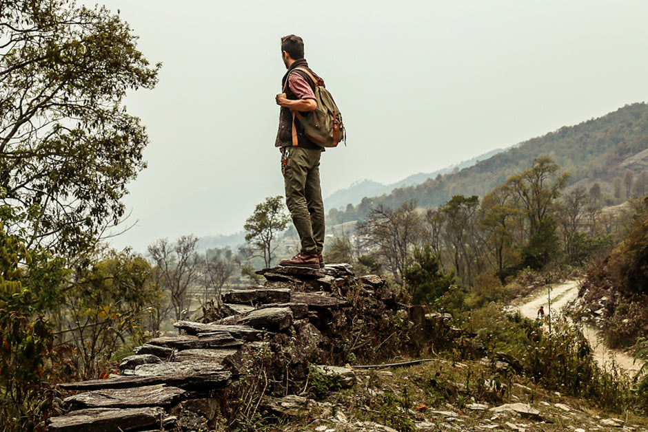WG Trunk Co goes hiking in Pokhara
