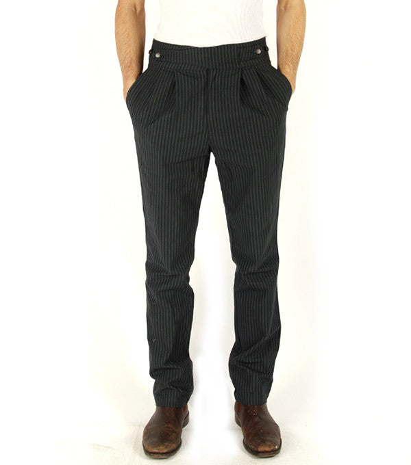 Charles Pants in Blue Stripe