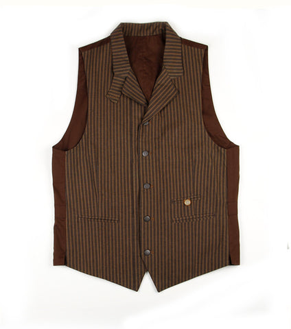 Charles Vest in Brown Stripe