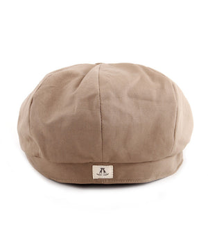 Paper Boy Cap in Tan