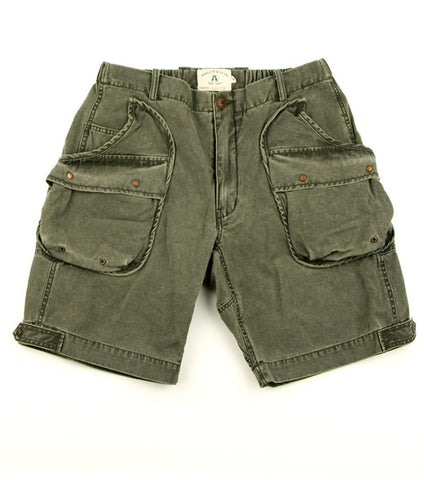 Alpha Shorts in Loden