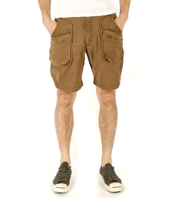 Alpha Shorts in Tobacco