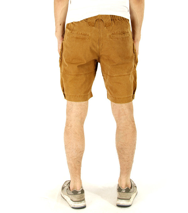 Alpha Shorts in Mustard