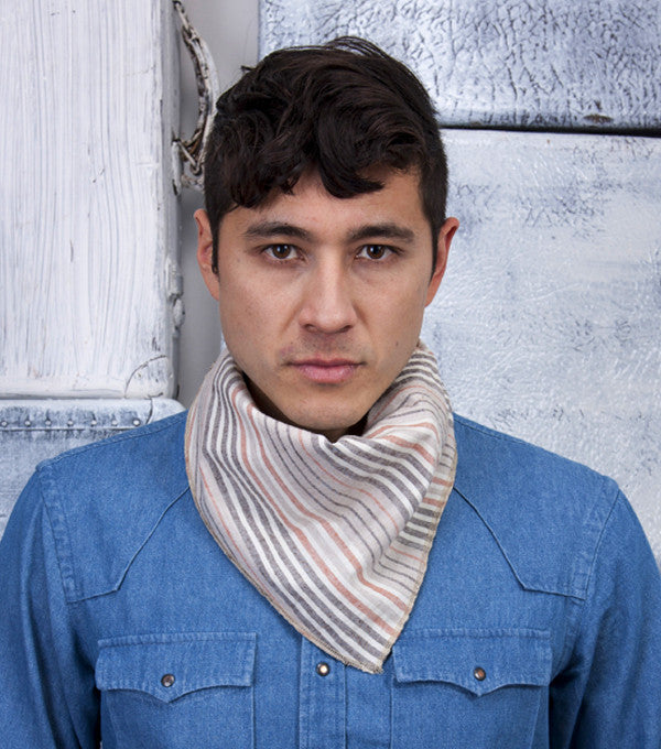 El Paso Scarf in Multi Stripe