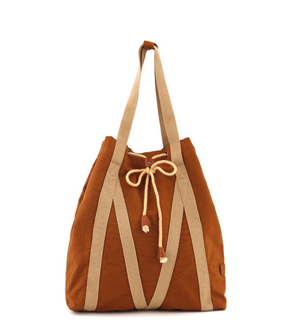 Bronte Tote in Whiskey