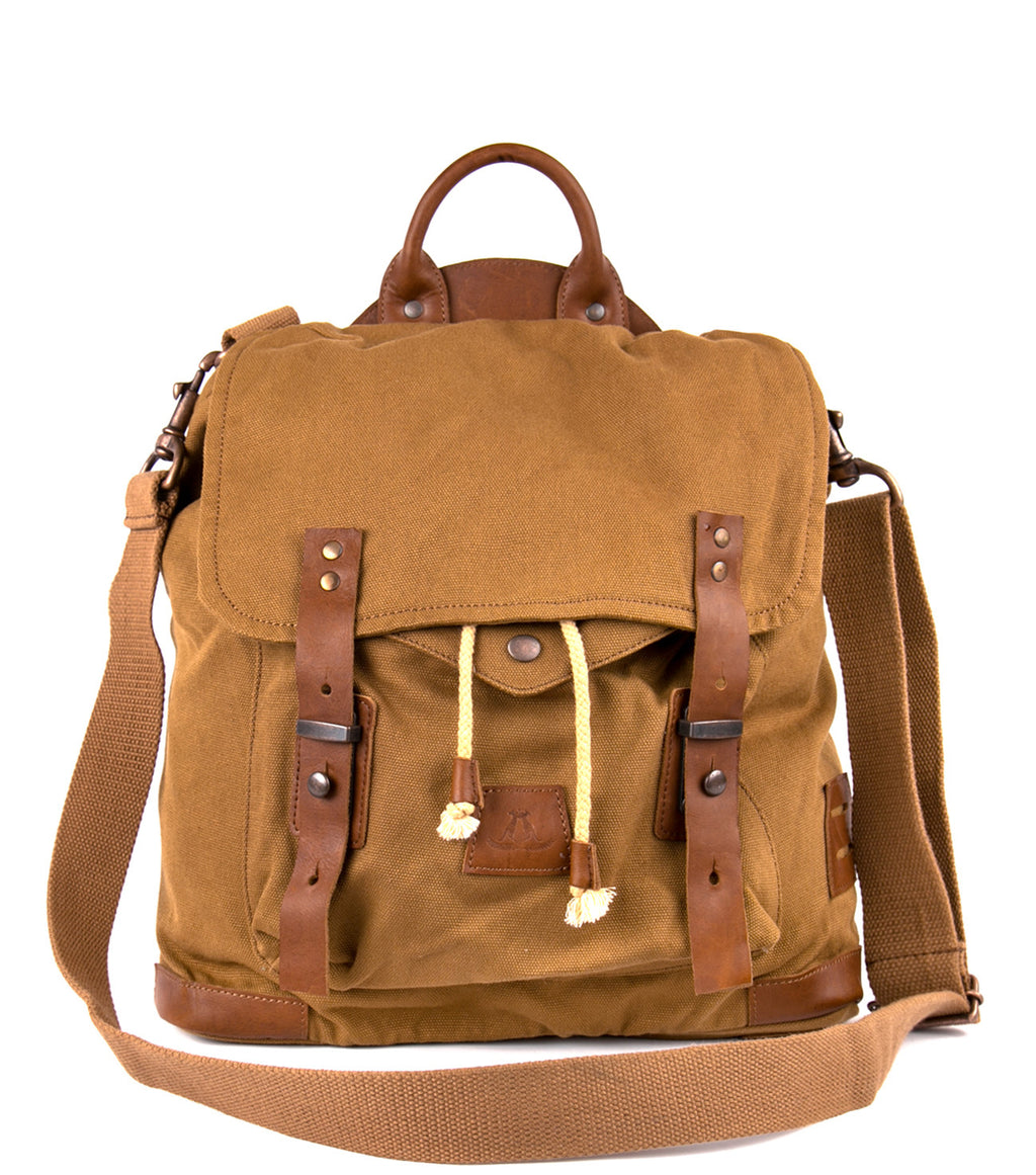 Nullarbor Satchel in Tobacco