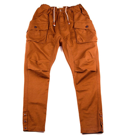 Alpha Drop Pants in Whiskey