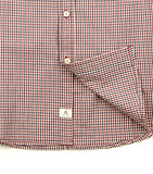 Lennox Shirt in Red Check