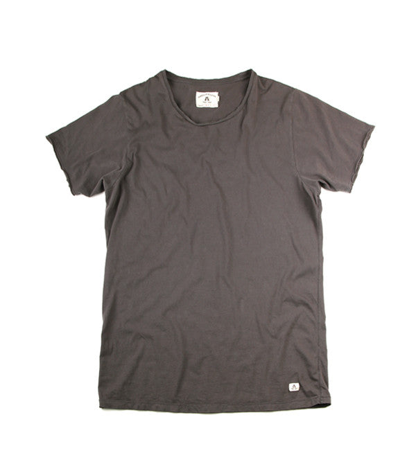 Rough Neck T-Shirt in Smoke