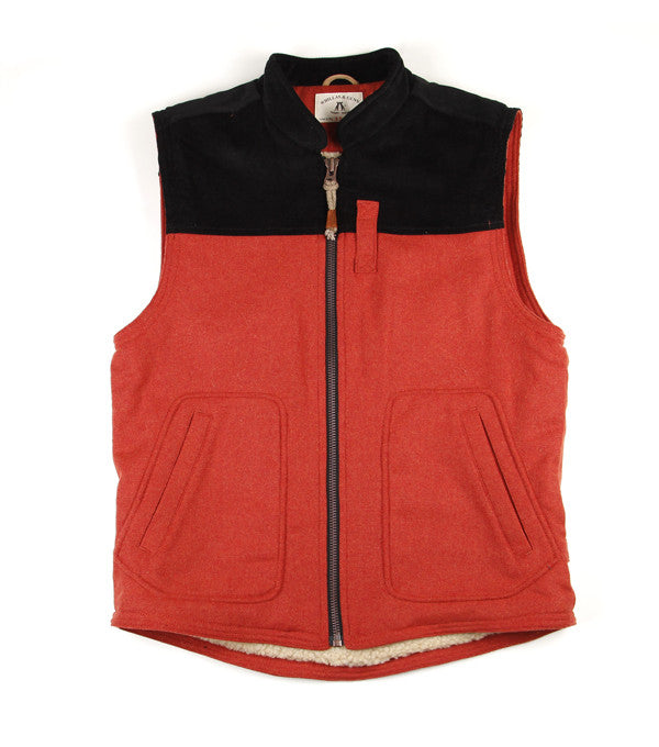Road Train Vest in Orange