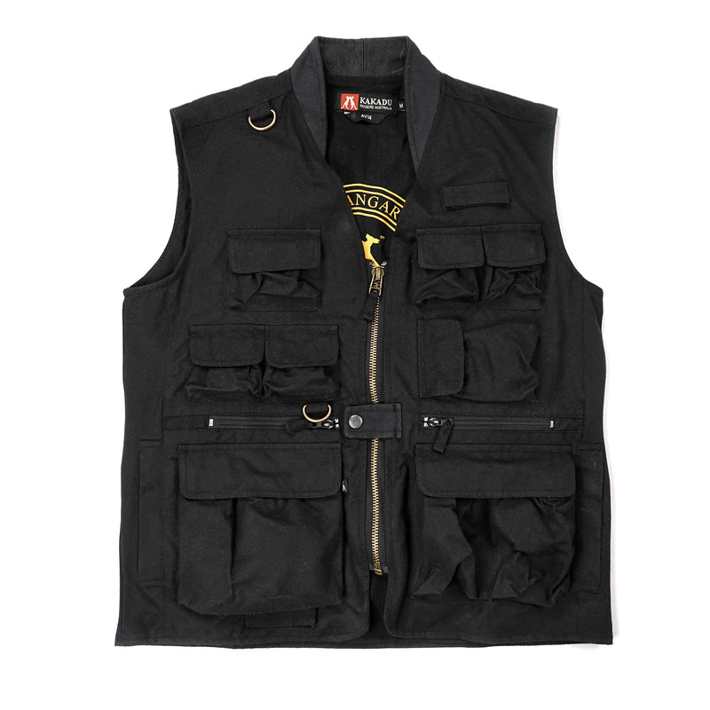 Traveller Vest in Black
