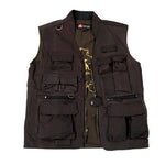 Traveller Vest in Brown