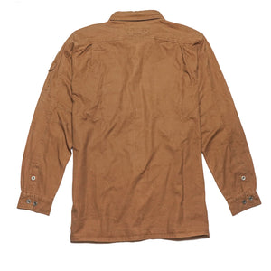 Toorak Shirt in Tobacco by Kakadu Australia