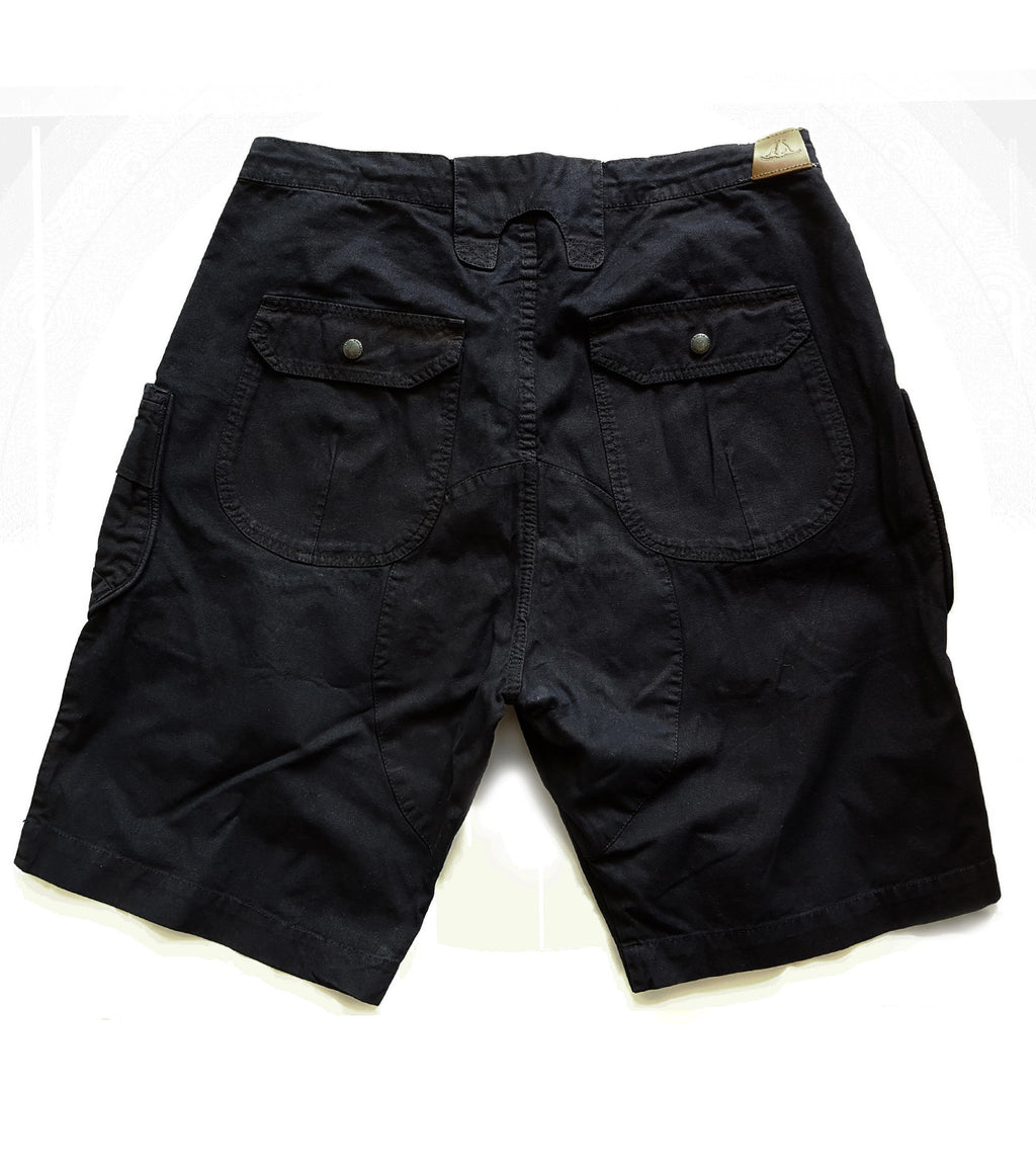 Alpha Shorts Mach 2 in Black