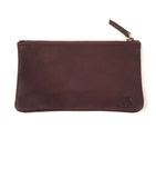 Large Cowhide Wallet in Brown