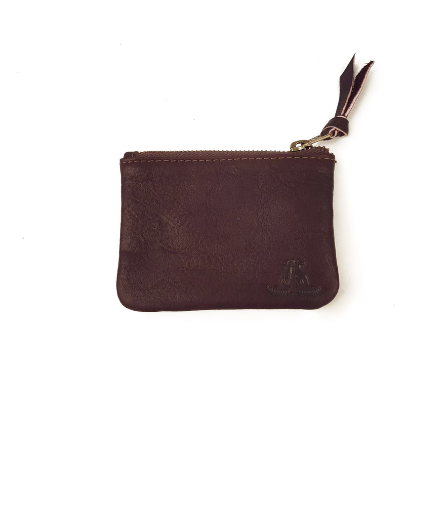 Cowhide Wallet in Brown