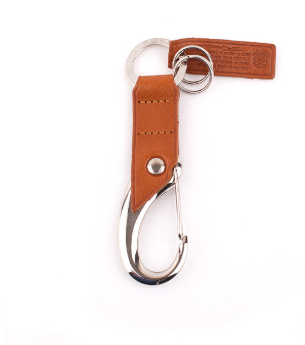 Key Ring in Tan