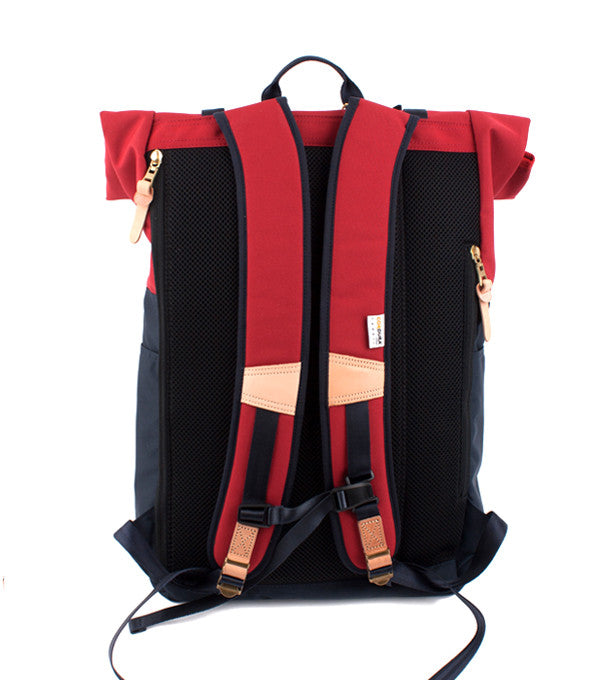 Hedge Backpack in Red