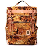Norwartt Backpack in Autumn Forest Print