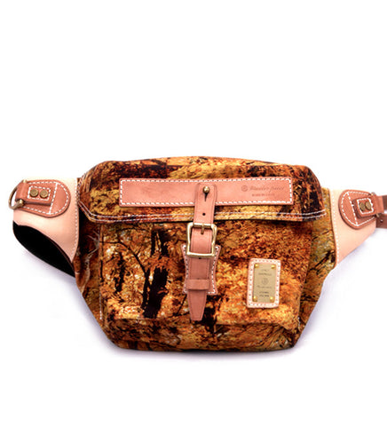 Norwartt Sling Bag in Autumn Forest Print