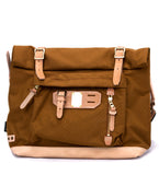 Roll Down Shoulder Bag in Camel
