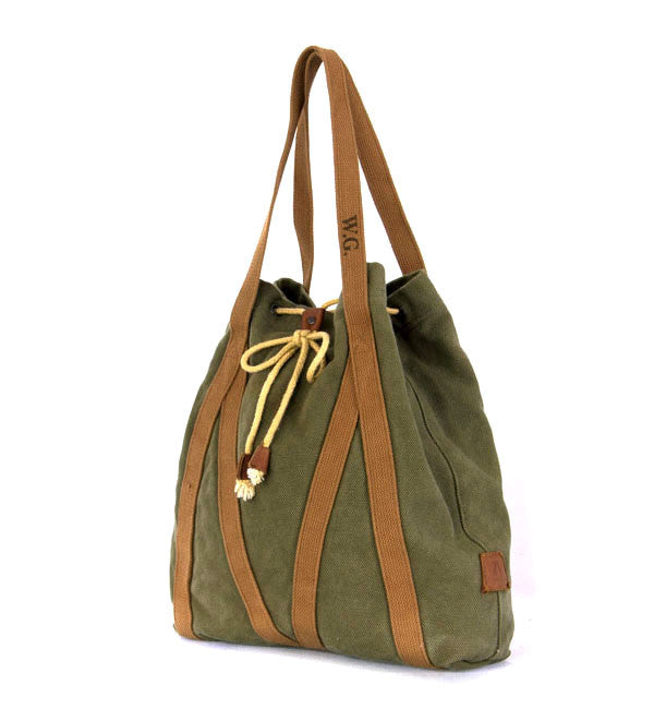 Nullabour Tote in Sage