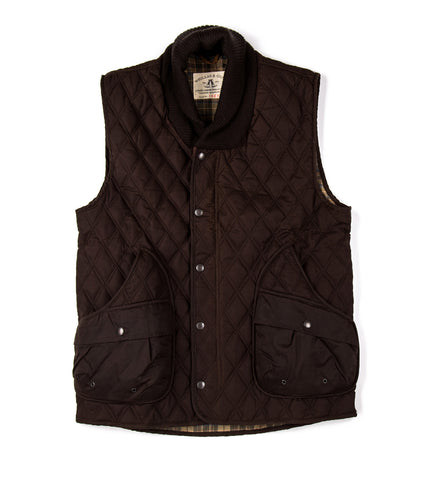 Kingsford Smith Vest in Brown